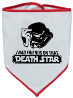 I HAD FRIENDS ON THAT DEATHSTAR BIB - INSPIRED BY STAR WARS STORMTROOPERS